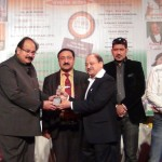 Awarded by Health Minister  Dr A. K. Walia