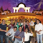 Live Workshop delegates at Kingdom of Dreams